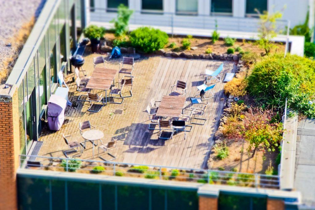 diseño terraza urbana
